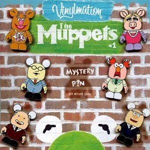 Disney Mystery Pin Set - Vinylmation Muppets