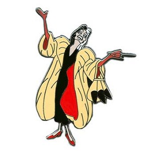 Disney Villains Pin - Cruella De Vil