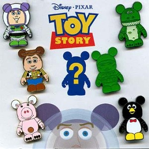 Disney Mystery Pin Set - Vinylmation Toy Story - 1 Pin