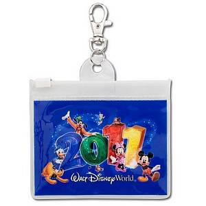 Disney Lanyard Pouch - Dated 2011 - Walt Disney World