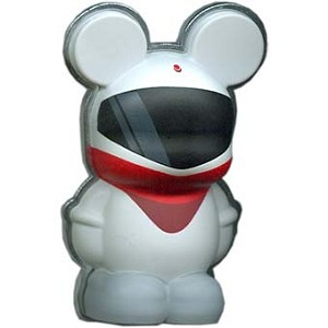 Disney Vinylmation Pin - 3D - Monorail Red