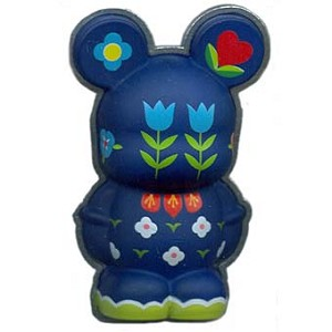 "Disney Vinylmation Pin - 3D - ""it's a small world"" Flowers"