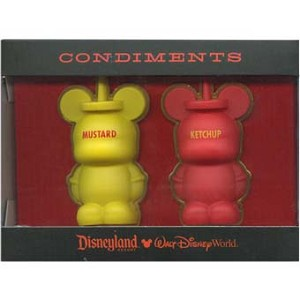 Disney Vinylmation Pin Set - 3D - Condiments