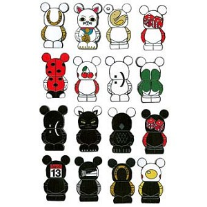 Disney Mystery Pin Collection - Vinylmation Good / Bad Luck - Random