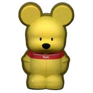 Disney Vinylmation Pin - 3D - Pooh