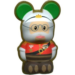 Disney Vinylmation Pin - 3D - Colonel Kungaloosh Adventurers Club!