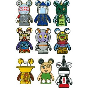 Disney Mystery Pin Set - Vinylmation Park #7 - 2 Random