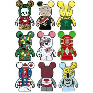 Disney Mystery Pin Set - Vinylmation Holiday #3 - 2 Random