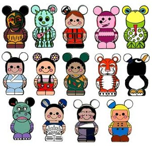 Disney Mystery Pin Set - Vinylmation it's a small world - 4 Pins