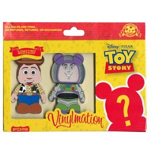 Disney Mystery Pin Collection - Jumbo Vinylmation Toy Story