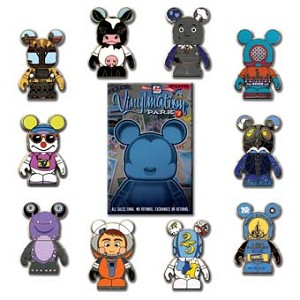 Disney Mystery Pin Set - Vinylmation Park #8 - Complete