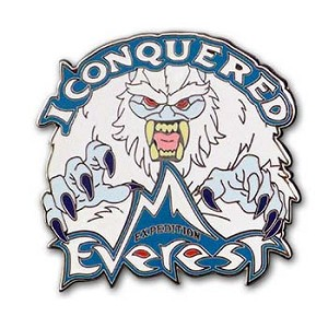 Disney Expedition Everest Pin I Conquered Everest Yeti