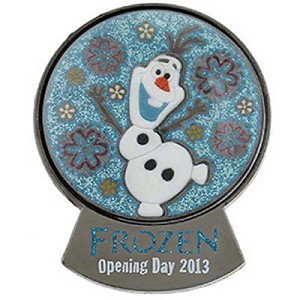 Disney Frozen Pin - Disney's Frozen Olaf Snowglobe Opening Day