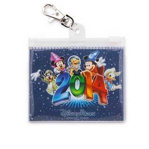 Disney Lanyard Pouch - Dated 2014 - Walt Disney World