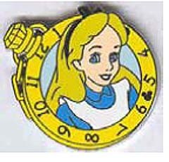 Disney Cast Lanyard Pin - Alice Watches - Alice