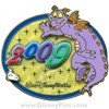 Disney White Glove Pin - Figment - Dated 2009