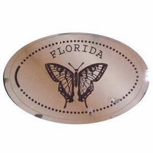 Disney Pressed Penny - Rainforest Cafe – Butterfly