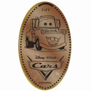 Disney Pressed Penny - Cars – Mater