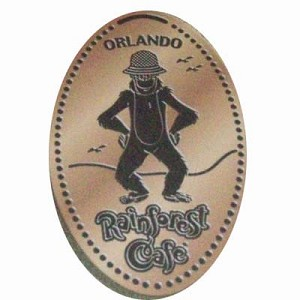 Disney Pressed Penny - Rainforest Cafe – Ozzie