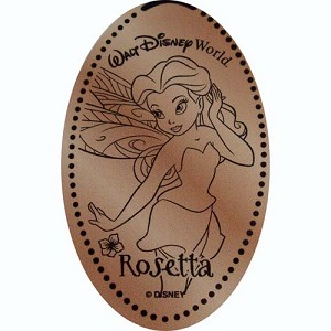 Disney Pressed Penny - Tinker Bell Pixie Hollow - Rosetta