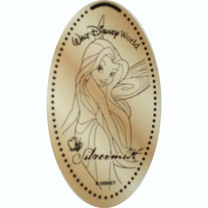 Disney Pressed Penny - Tinker Bell Pixie Hollow - Fairy Silvermist