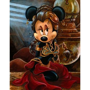 Disney Deluxe Print - Star Wars - Princess Leia Minnie - 2011 Weekends