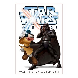 Disney Throw Blanket - Star Wars Weekends 2011 Logo Darth Vader