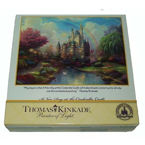 Disney Puzzle - Thomas Kinkade - Painter of Light - 1000pc