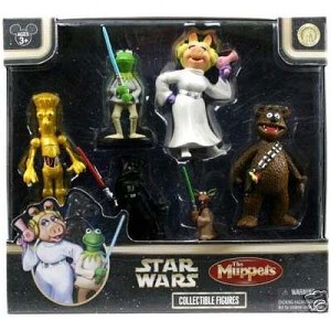 Disney Figurine Set - Star Wars Muppets