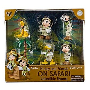 Disney Figurine Set - Mickey and Friends On Safari