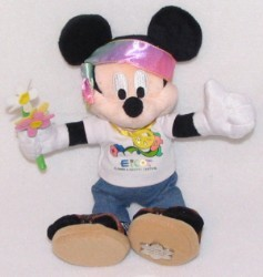 Disney Plush - Mickey Mouse - Epcot Flower And Garden Festival