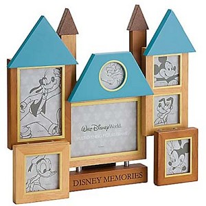 Disney Picture Frame - Collage - Castle