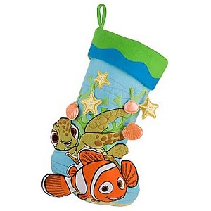 Disney Christmas Holiday Stocking - Finding Nemo