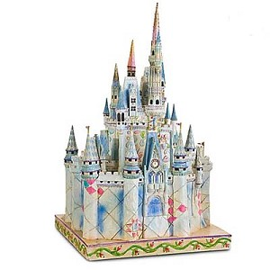 Disney Jim Shore Figure - Cinderella Castle of Dreams