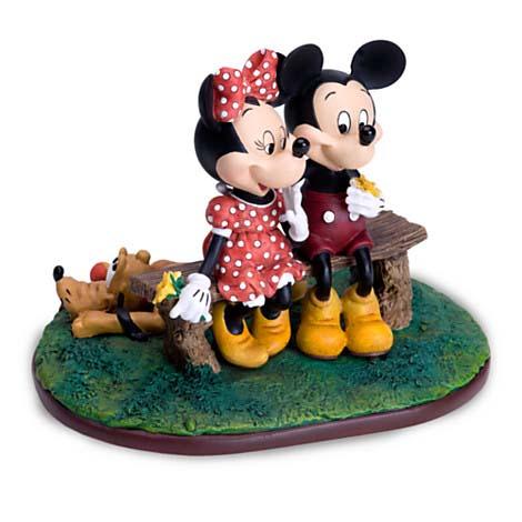 Your WDW Store - Disney Charles Boyer Figurine - Mickey and Minnie ...