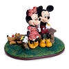 Disney Figurine - Mickey and Minnie Mouse Puppy Love - by Charles Boyer