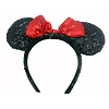 Disney Ear Headband - Sequined Minnie Mouse