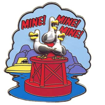 Disney Finding Nemo Pin - Mine, Mine, Mine