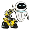 Disney WALL-E Pin - Wall-E and Eve