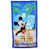 Disney Beach Towel - Mickey Mouse Building Sand Castle
