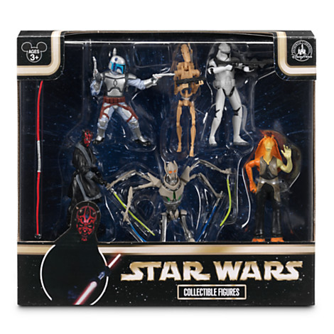 Disney Figurine Set - Star Wars Collectible Figures - Prequel Collection