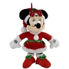 Disney Christmas Ornament - Santa Minnie Mouse Plush