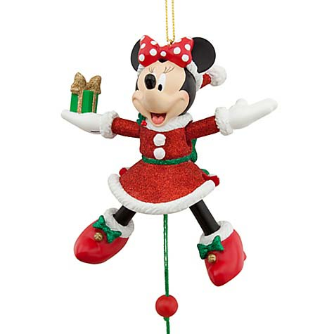 disney christmas ornament minnie mouse marionette