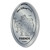 Disney Pressed Quarter - Friends - Mike and Sulley