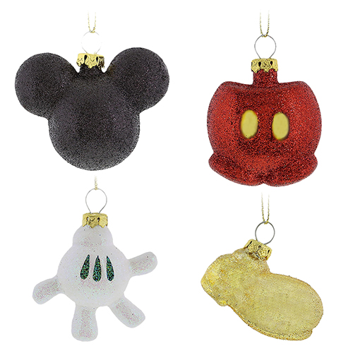 Disney Christmas Ornament Set - Best of Mickey