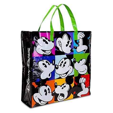 ce3d9e97d4 Add to My Lists. Disney Reusable Shopping Bag - Pop Art Mickey Mouse