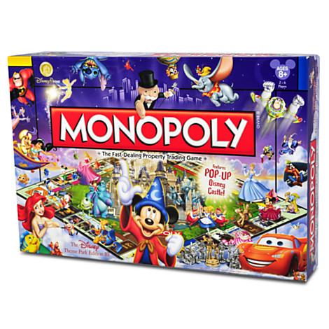 Disney Monopoly Game The Disney Theme Park Edition 3