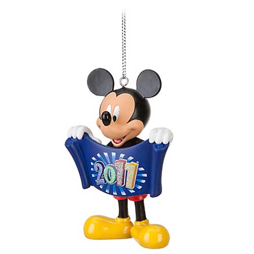 Disney Christmas Ornament - 2011 Mickey Mouse Figure