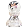 Disney Snow Globe - Mickey and Minnie - Wedding - Musical