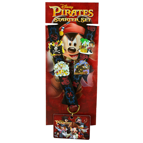 Disney Pin Starter Set - Pirates of the Caribbean On Stranger Tides